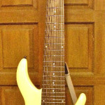 8-String Electric Bass Completed