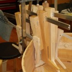 Gluing in the new neck block