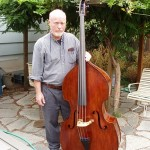 Mr. Willis with his bass